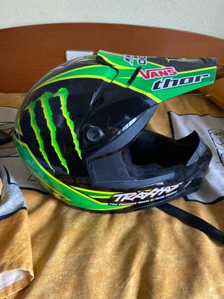 Casco moto Monster talla M