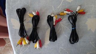 Cables RCA Audio - Video barato 2€