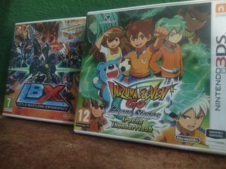 Lote de 2 juegos Nintendo 3ds(como nuevos)