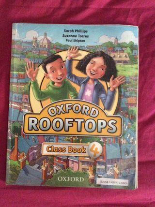 Libro inglés class book Oxford rooftops 4EP