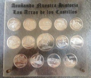 Monedas de plata Las arras de nuestros castillos