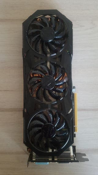 Tarjeta gráfica GeForce GTX 980 4GB GDDR5 Gigabyte