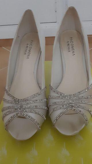 Zapatos menbur novia