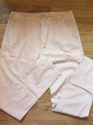 Pantalón de vestir ancho