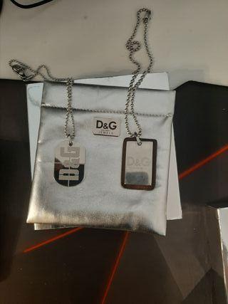 colgante de hombre D&G