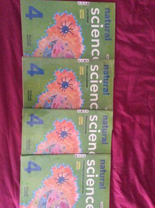 Libros Oxford natural sciences 4EP