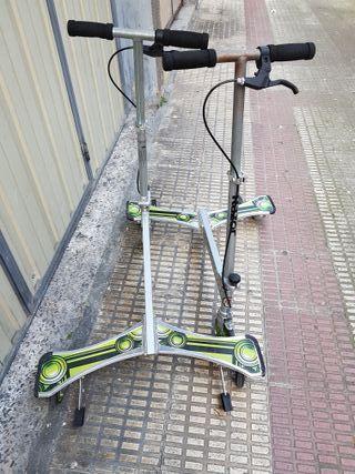 Patinete 3 ruedas powerwing