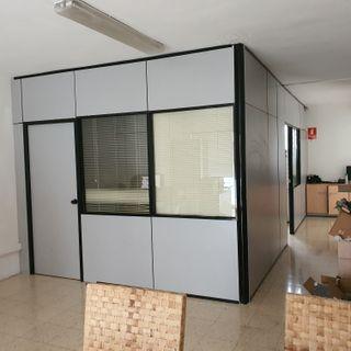 Mamparas divisorias oficina
