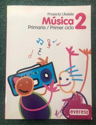 Libro Música 2° primaria Edit.Everest NUEVO Tienda