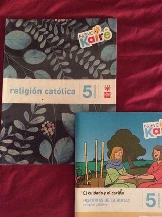 Libro Religión 5Ep sm