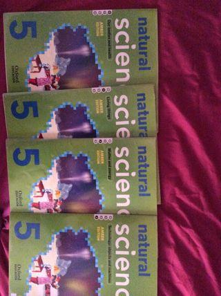 Libros Natural sciences 5 EP Oxford