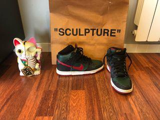Nike sb high dunk premium x Resn gucci
