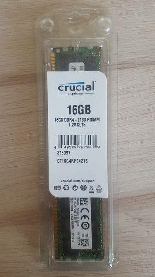 Memorias RAM 16GB DDR4 por unidad o en pack