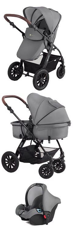 Kinderkraft MOOV3in1 (pushchair/carrycot/car seat)