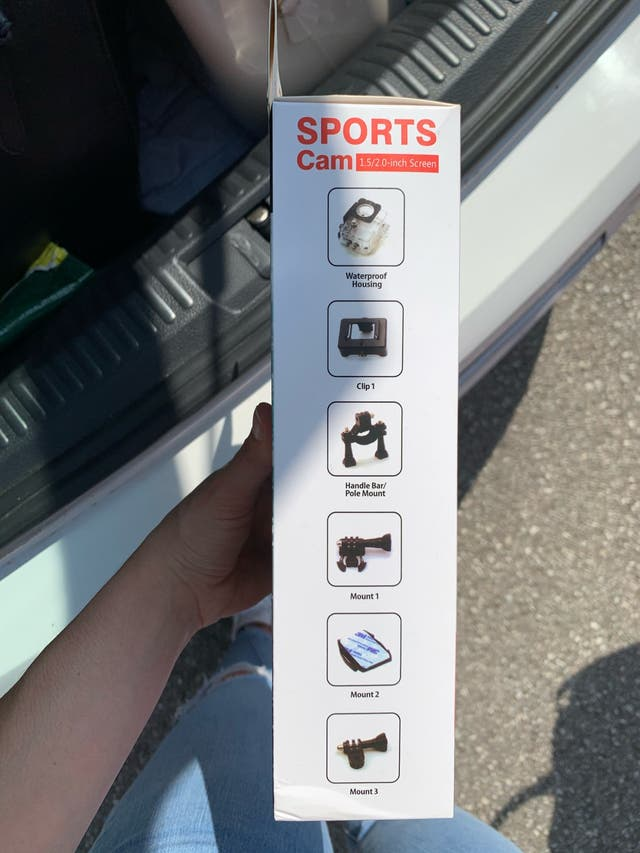 Camara deportiva tipo go pro