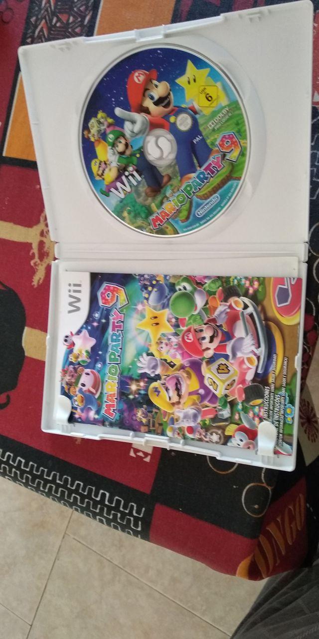 juego Mario party 9 wii