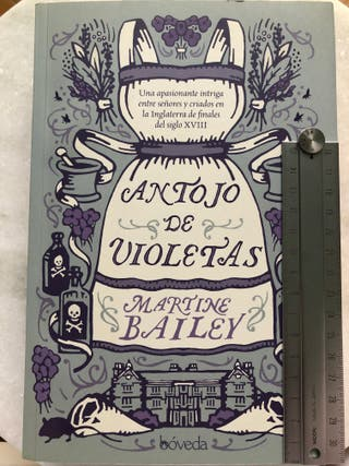 JUVENIL 193. Antojo de violetas - Martine Bailey