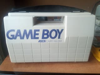 Maletín original porta gameboy + Gameboy + juego