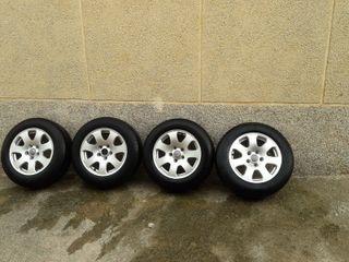 ruedas con llantas para audi 4