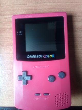 gameboy color edición rojo