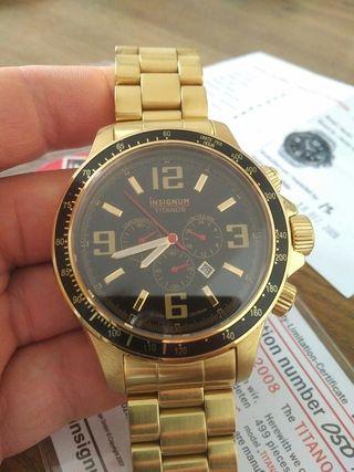 Reloj Insignium impresionante