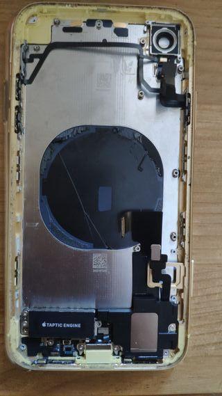 Chasis original iPhone Xr con cristal rajado