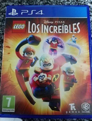 Videojuego PlayStation 4, Los increíbles de lego.
