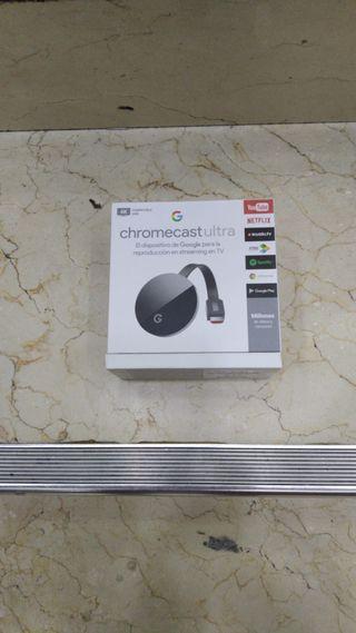 Google Chromecast Ultra 4K nuevo precintado