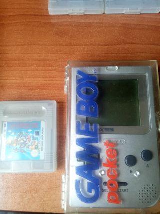 Gameboy pocket con estuche original