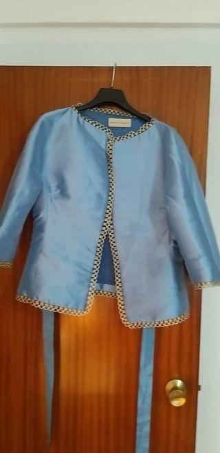 vestido y chaqueta PURIFICACIÓN GARCÍA
