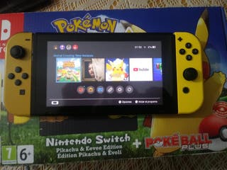 Nintendo Switch Lets go pikachu.