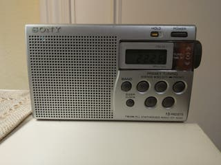 radio sony, radiotransistor, am/fm