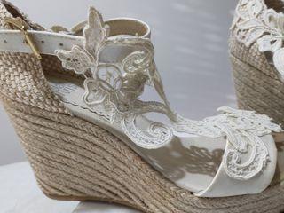 zapatos/cuñas novia