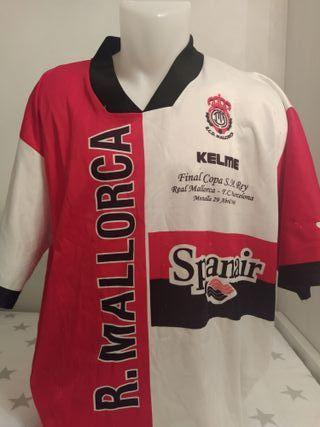 Camiseta fútbol Mallorca final copa del rey 1998