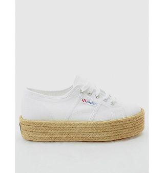 Zapatillas esparto blancas Superga