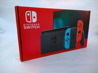 Nintendo Switch 2019 seminueva + DOS mandos PowerA