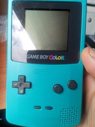 Gameboy color azul celeste