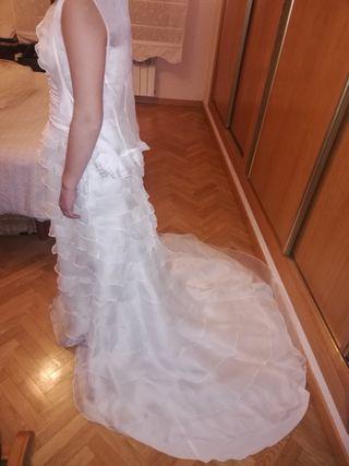 Vestido novia palabra de honor PRONOVIAS