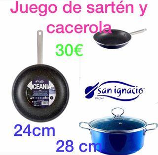 Juegos cacerola y sarten 30€