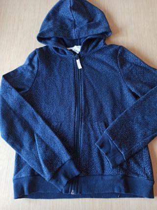 chaqueta sudadera talla 8-10 hym