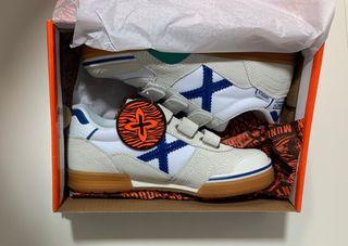 Zapatillas Munich gresca kid blancas T32 nuevas