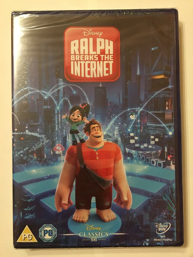 DVD película Ralph breaks the internet
