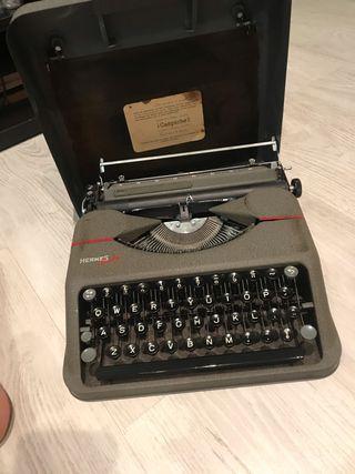 Máquina de escribir Hermes baby de coleccionismo