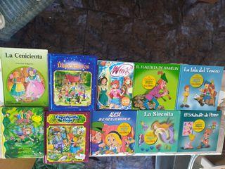 10 libros infantiles.