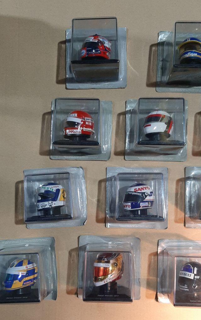 Coleccion COMPLETA cascos F1 escala 1/5 SPARK