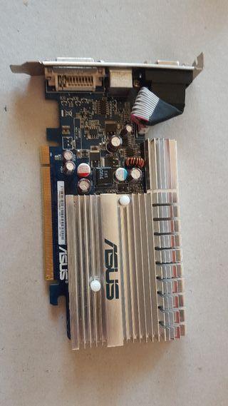 Gráfica Asus EN8400GS SILENT 256MB PCIe dvi