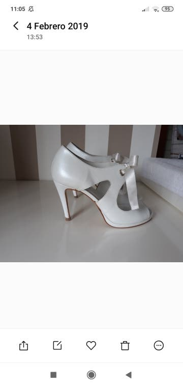 zapatos novia 39