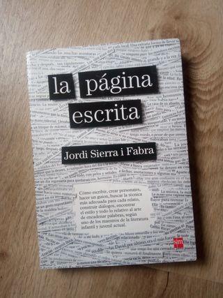 la página escrita. Jordi Serra i Fabra