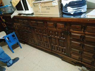 Mueble de Tv o Comoda grande antigua