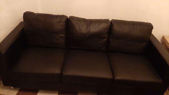 sofá semi nuevo